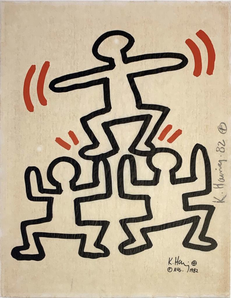 Keith Haring | Untitled #4 | Bayer | 1982