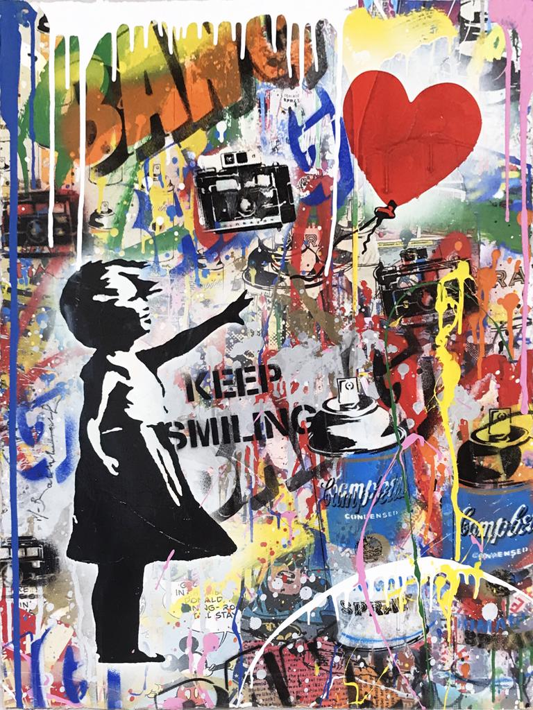 Mr. Brainwash | Balloon Girl (P102543) | 2019