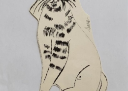 Andy Warhol | 25 Cats Name[d] Sam and One Blue Pussy IV.55 | CA. 1954